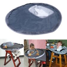 Baby Eating Table Mat Feeding Chair Cushion Round Waterproof Folding Infants Pad