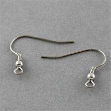 50pcs 304 Stainless Steel French Earring Findings Hooks Hypo-Allergenic Earwire