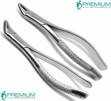 Dental Extracting Forceps 150s & 151s Surgical Tooth Extraction Tools Set of 2