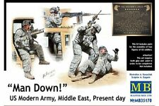 MasterBox MB35170 1/35 Man Down! US Modern Army, Middle East, Present day