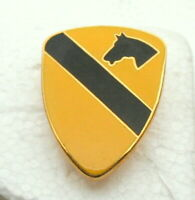 Vintage 1st Cavalry Army Division 1980s Hat Lapel Pin New NOS