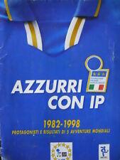 Album Calciatori AZZURRI CON IP completo 1992-1998   [G.289]