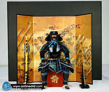 Japanese Samurai Complete Set of 5 1/6th Scale Japanese Ver Released by DID Corp