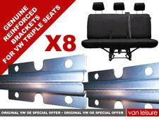 VW T5 T6 VOLKSWAGEN TRANSPORTER TRIPLE REAR SEAT REINFORCEMENT BRACKETS PLATES