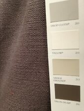 8 Mts Curtain Upholstery Heavy Canvas Weave Fabric  In Brown