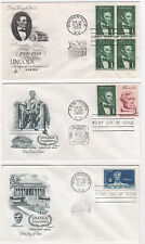 US FDC 1959 Year Set 23 First Day Covers All Cacheted All Unaddressed |