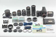 5lens [Near MINT] Mamiya 645 Pro w/ 80mm 55,150,210,300mm  lens from Japan 2061