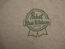 Blue Ribbon Beer Gray T shirt XL