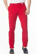 Men's Tommy Hilfiger Hudson chino trousers red color size 34 /34 BNWT