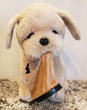 VHTF Vintage Avanti Baby Animals Bulldog Pup Plush Applause w/Work Boot Hang Tag