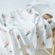 120*120cm Baby Blanket Muslin Wrap Cotton Bamboo Fiber Baby Swaddle Breathable
