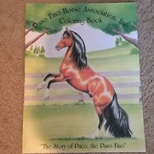 PASO FINO Horse Coloring Book The Story of Paco NEW 25 Pages