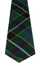 CORNISH HUNTING MODERN TARTAN  PURE WOOL TIE by LOCHCARRON of SCOTLAND