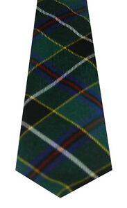 CORNISH HUNTING MODERN TARTAN  PURE WOOL TIE by LOCHCARRON of SCOTLAND