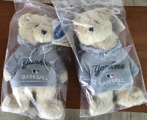 NY Yankee Hoodie Plush Team Bear