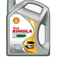 Shell RIMULA R4 L 15W-40 5L - Acea E9, E7, Cat, Cummins, MB, Volvo, Iveco, Deutz