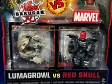 New BAKUGAN vs MARVEL 2-Pack HELIOS & BLACK Stealth Armor IRON MAN Figure DARKUS