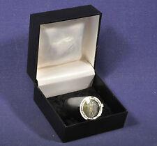 Kleine Tischuhr König Pilsener / Silber Schwarz Little Table Clock Silver Black