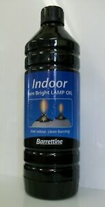2 X 1 litre Pure clear High Quality indoor Lamp oil for oil burning lanterns BA