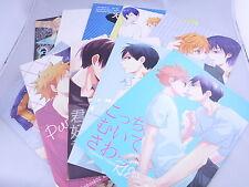USED Lot of 10 Haikyuu!! Soft YAOI Doujinshi Kageyama x Hinata from Japan F/S 02