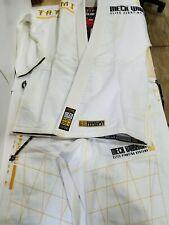 Tatami White Mech Warrior Mens Limited Brazilian Jiu Jitsu Gi Jiu-Jitsu BJJ
