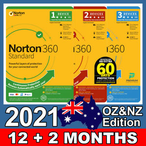 Norton 360 Standard 1 User 1 2 3 Devices 1 Year PC Mac Android iOS License Key