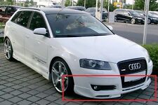 Audi A3 8p Parachoques Delantero Spoiler / Bastidor S-line Mira Abt S3 Nuevo