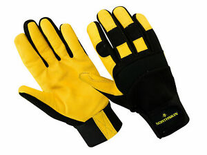 LARGE SIZE 5 PAIRS OF WORKING LEATHER GLOVE DRIVING CARPENTER BUILDER  FARMER UK