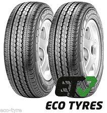 2X Tyres 235 65 R16C 115/113R 8PR Pirelli Chrono 2 C B 72dB