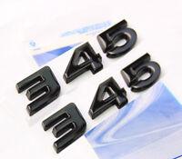 2x Black 345 Emblem Badge decal 3D for Dodge Challenger Chrysle HEMI 345 NEW 2
