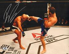 RYAN BADER SIGNED AUTO'D 11X14 PHOTO BAS BECKETT COA UFC TUF 8 WINNER 144 192 H