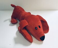 "Red Doggy Soft Plush 13"" Long"