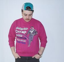 TRUE VINTAGE Bodybuilding Sweatshirt Pullover Fitness 90er 90s pink CHAMP L pink