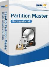 EaseUS Partition Master Professional 13.5 Lifetime Activation 100% Genuine