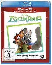 ZOOMANIA (Walt Disney) Blu-ray 3D + Blu-ray Disc NEU+OVP