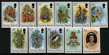 Cayman Islands Scott 452a-462a Birds Flowers 1982 Set UMM MNH 1A4 35