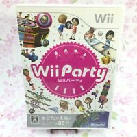 USED Wii Party RVL-P-SUPJ 18290 Japan import