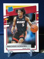 2020-21 Donruss Precious Achiuwa Rated Rookie #235 Miami Heat RC