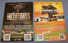 Metaldays + Burning Sea - Open Air 2013  - Festival Promotion Flyer