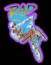 80's BMX Classic RAD Poster Art custom tee Any Size Any Color