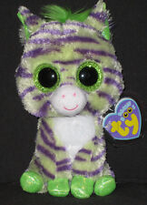 TY BEANIE BOOS BOO'S - WILD the ZEBRA - MINT with MINT TAGS