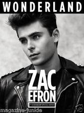 Zac Efron Siri Tollerod Cameron Russell Katie Price / Jordan WONDERLAND MAGAZINE