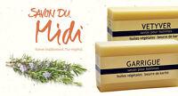 Savon du Midi - Männer-Seife mit Karité-Butter - Milde, pflegende Herren-Seifen