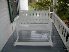"Victorian 48"" Porch Swing with foot pedal SFK Furniture"