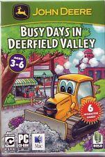John Deere: un día ajetreado en Deerfield Valle (juego de PC) Nuevo Sellado