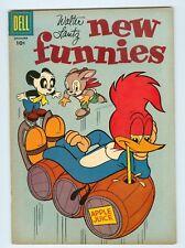 New Funnies #250 December 1957 VG/FN Woody Woodpecker