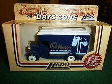 Lledo Days Gone 1934 Dennis Parcels Van with Cadburys Dairy Milk decals