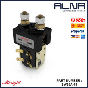 ALBRIGHT CONTACTOR SW80A-19