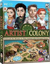 Artist Colony Windows PC Video Game draw painter photographer sculptor dancer