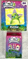 Nickelodeon HATCHIMALS Jumbo Playing Cards & 24 Piece Jigsaw Puzzle, Set/2-NEW